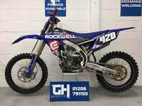 USED 2017 YAMAHA YZ250F | VERY GOOD CONDITION | FEW AFTERMARKET EXTRAS