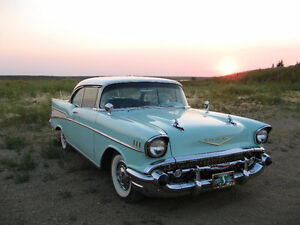 1957 Chev Belair 2 Door Hard Top