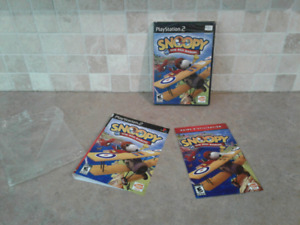2006 PlayStation 2 snoopy vs the red baron sealed!