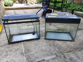 FREE glass fish tanks