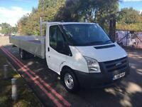 Ford Transit T350 3.5T XLWB Extra Long 20ft (6.1m) Dropside Flat Lorry Pick Up