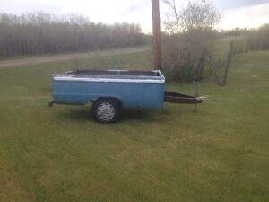 1966 Ford truck box trailer