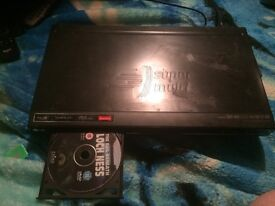 For sale one DVD player with built in free view