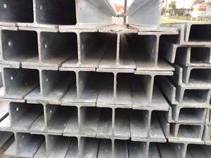 Galvanised steel H & C retaining wall/beam post Thomastown Whittlesea Area Preview