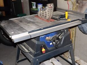 10'' Table saw/stand with laser St. John's Newfoundland image 1