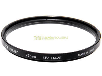 77mm. filtro UV Haze Marumi. Ultra violet filter.