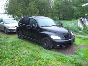 Chrysler PT Cruiser with turbo for parts or repair