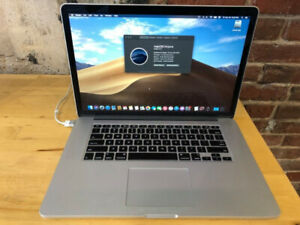 Apple Macbook Pro Retina mid 2015 - Core i7 Quad Core - 16GB RAM