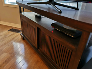 Pier 1 Wood TV Stand