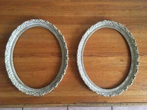 Antique Oval Frames