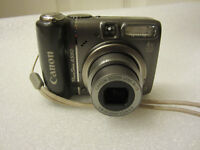 Canon PowerShot A590 IS 8mp 4x Optical Zoom Digital Camera