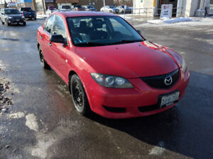 2005 Mazda3 GX Sedan - Manual Transmission $800 OBO
