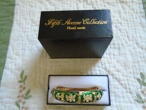 Butler Fifth Avenue Collection Bangle Bracelet 1980s