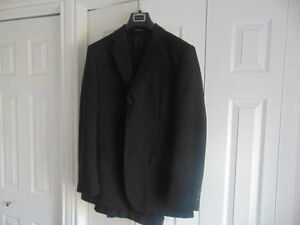 Men's suits... worn once and dry cleaned