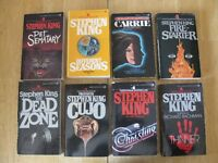 Stephen King softcover books