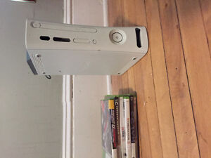 Xbox 360 - 6 Games - 2 Controllers - Wireless adapter