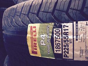 Brand New Pirelli P4 Four Season 225/55R17
