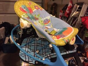 Lounger baby rocker