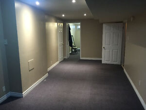 One bedroom + one washroom basement for rent in maple