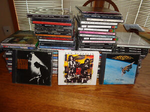 Rock/Pop CD collection