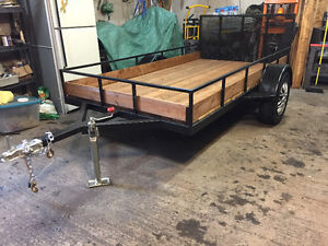 custom made 5' by 10' utility trailer