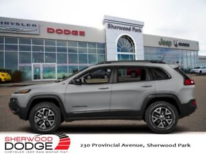 2018 Jeep Cherokee Trailhawk 4x4  OFF ROAD CAPABILITY | SUNROOF