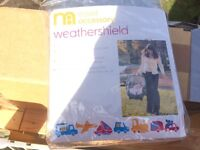Mothercare weather shield