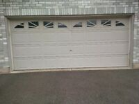 garage door aluminum used