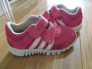 Girls adidas running shoes