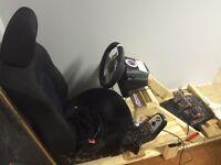 Logitech G27 Racing Wheel & Playseat
