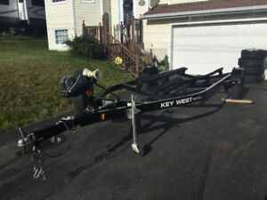 HEAVY DUTY FACTORY BUILT BOAT TRAILER