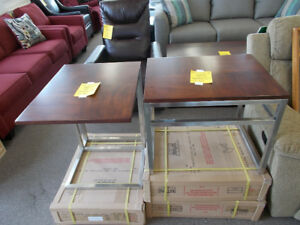 Excellent New End Tables 99 Each