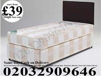 STRONG Single Bedding at Best PRICE base and frame Double Sparks