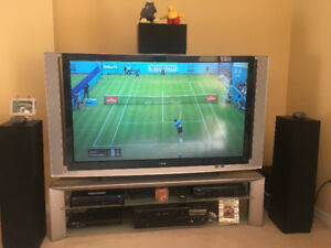 """Sony SXRD 60"""" HD TV with Sony Stand!  Great Picture!"""