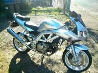 Suzuki sv650s k3 £1500ono