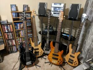 Bassist Available For Recording Studio Session Gigs