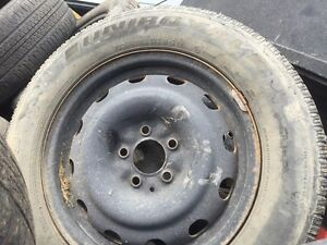 Chevrolet rims and tires two 225–60 R 16
