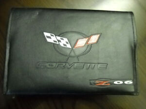 2004 Chevrolet Corvette Z06 complete owners manual.