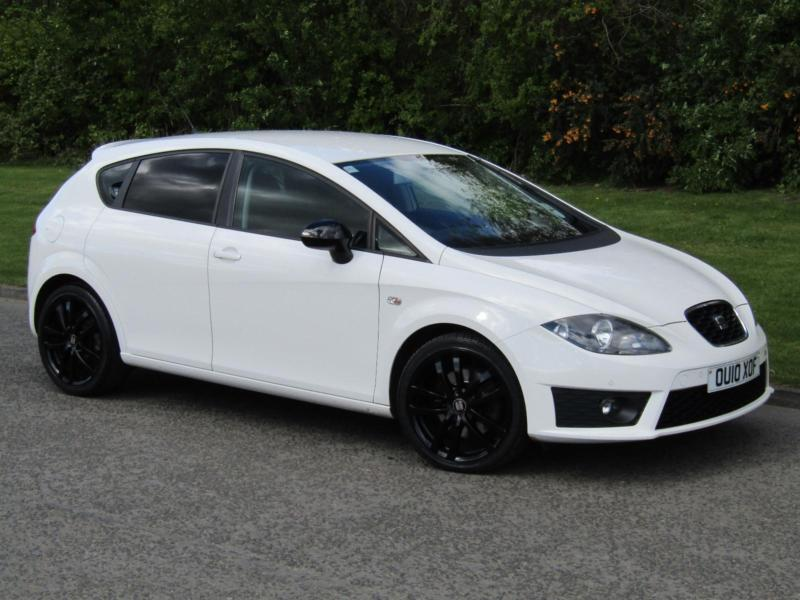 2010 seat leon fr 2 0 tdi 170bhp cr 6 speed manual 5 door diesel hatchback white in hexham. Black Bedroom Furniture Sets. Home Design Ideas