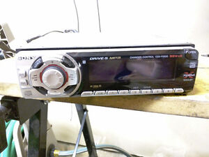 Sony Car Radio with Pre-Amp Outputs