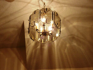 Beautiful 5 Bulb Chandelier for Hallwayor Stairs-Priced to sell