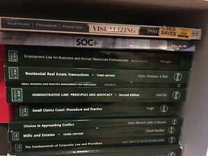 Law Clerk and Paralegal Textbooks for Fleming College