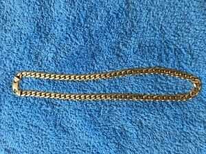 10k gold chain, thick and heavy