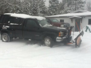1996 Chevrolet C/K Pickup 3500 With 8ft plow Pickup Truck