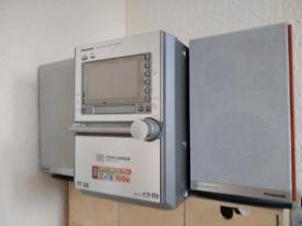 Panasonic SA-PM91D Audio Stereo Hi-fi System - 5 disc changer - FM-MW