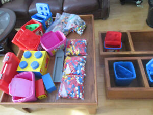 Lego,: Several pounds of lego, boat, storage and other bricks