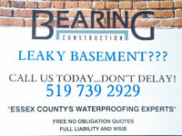 LEAKY BASEMENT???