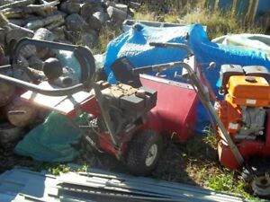 2 Old Snowblowers For Sale