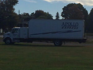 STRAIGHT TRUCK + REEFER FOR SALE