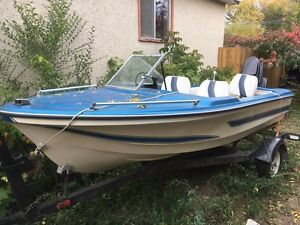 Anchor Boat and trailer 40 horse Merc